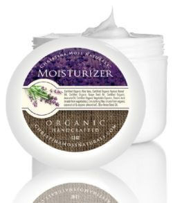Organic and 100% Natural Face Moisturizing