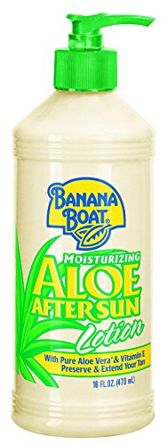 Banana Boat Aloe Vera Sun Burn Relief Sun Care After Sun Lotion - 16 Ounce