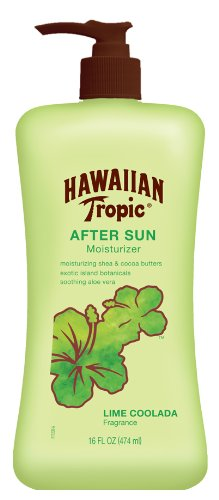 Hawaiian Tropic After Sun Lime Coolada Moisturizing Sun Care Lotion - 16 Ounce (Pack of 3)