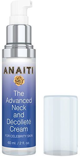 ANAITI Advanced Neck and Decollete Cream - Daily Moisturizer for Wrinkles - Skin Tightening, Smoothing Serum - Advanced Dermatology Anti-Aging Skin Care - 2 OZ