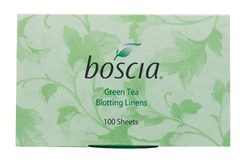 Boscia Green Tea Blotting Linens, 100 Count