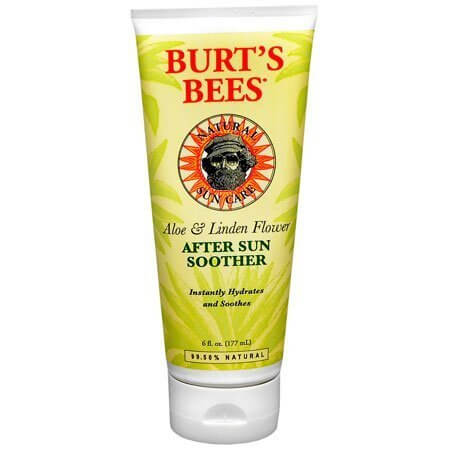 Burt's Bees Aloe & Linden Flower After Sun Soother 6 oz (Pack of 2)