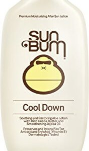 Sun Bum Cool Down Hydrating After Sun Lotion, 8-Ounce