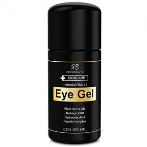 Radha Beauty Eye Cream for Puffiness, Dark Circles, Wrinkles & Bags - The most effective eye gel for every eye concern - All Natural Ingredients - 0.5 fl oz