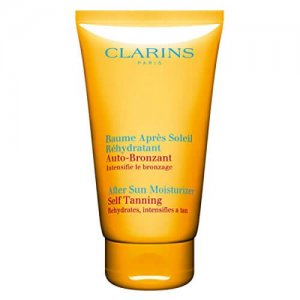 Clarins After Sun Moisturizer Self Tanning for Unisex, 5.3 Ounce