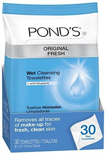 Pond's Moisture Clean Towelettes, Original Fresh 30 ct, Pack of 4