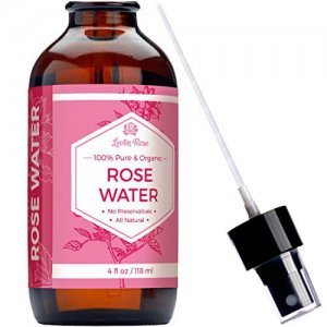 Rose Water Toner - 100% Organic Natural Moroccan Rosewater (Chemical Free) - 4 oz